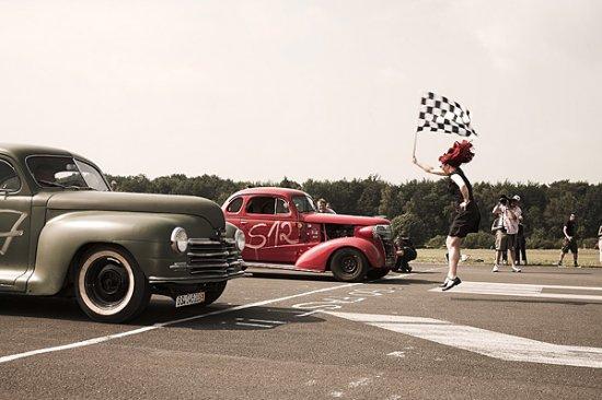 Слет хотродов в Германии (Hot Rod & Kustom Kar Meeting)