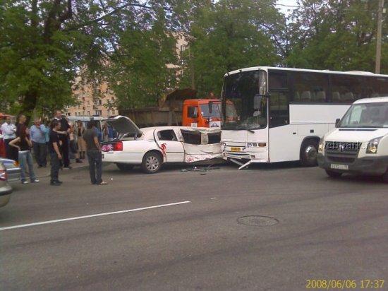 Лимузин vs Автобус