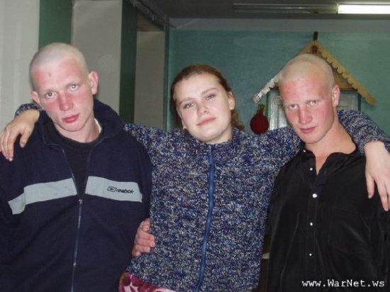 Гопники в лицах.