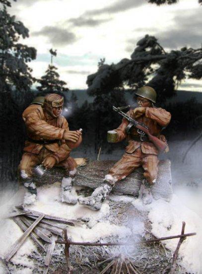 Диорама (Вторая Мировая) часть 2