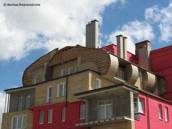 Новостройка на Одинцова в Минске