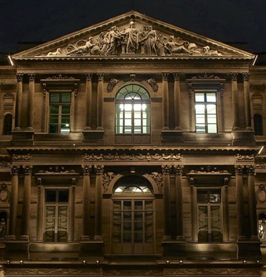 Ночной Париж