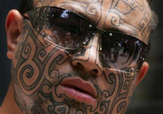 Самые татуированные люди