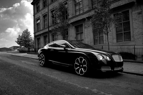 Bentley Continental GTS «Black Edition» от Kahn Design — чёрный жемчуг