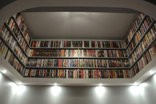 Кинотеатр в квартире - пример создания