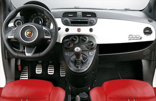 Самая мощная версия миникара Fiat 500 — Abarth SS