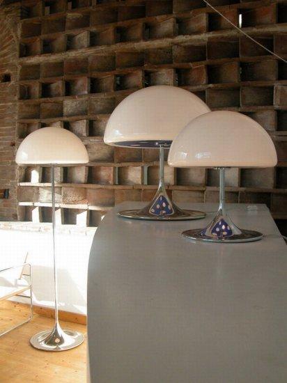 Лампа-мухомор для волшебства в интерьере