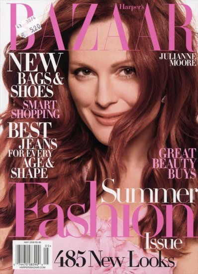 Джулианна Мур для Psychologies и Harper's Bazaar