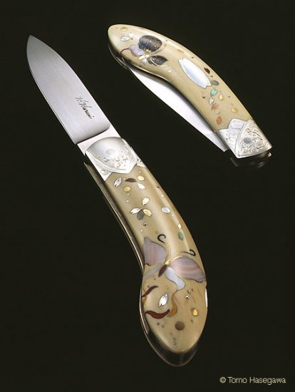 ХАРУМИ ХИРАЯМА - создательница ножей-шедевров.