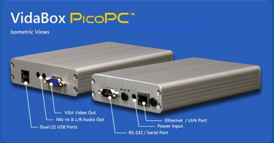 VidaBox PicoPC превращает телевизор в ПК