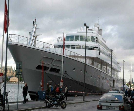 Rising Sun - самая дорогая в мире яхта