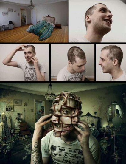 Мрачный гений фотошопа