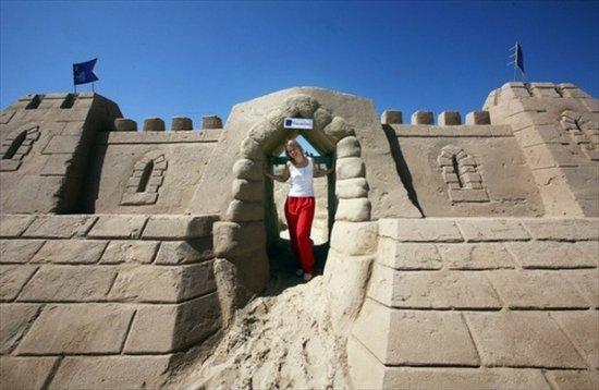 Гостиница из песка