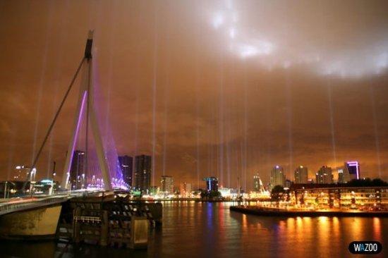 Ночной Роттердам