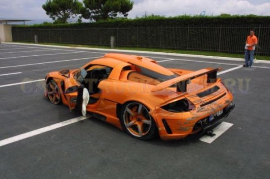 Porsche Carrera GT — вымирающий вид…