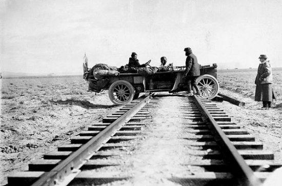 Старинный автопробег