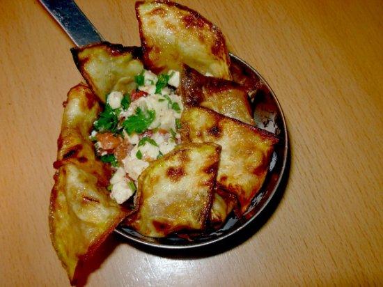 Тимбале из кабачков с помидорами и сыром