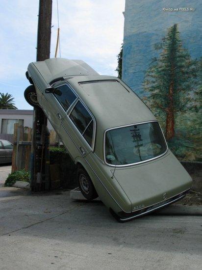 Вертикальная парковка