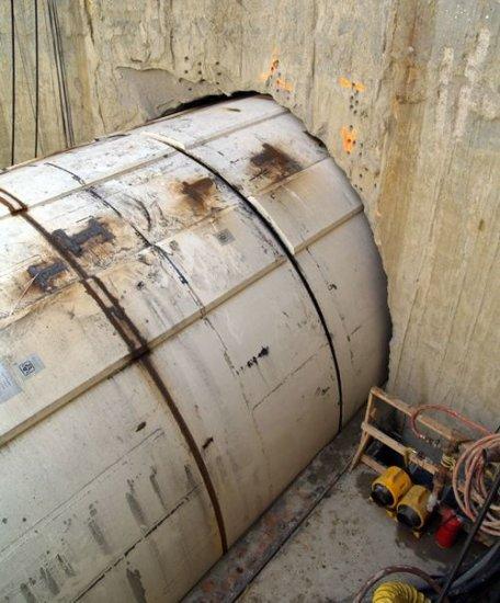 Туннельная бурильная машина