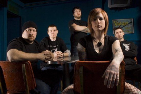 WALLS OF JERICHO (USA, DETROIT/ metal/hardcore female vocals) => МИНСК => 22.09.2008