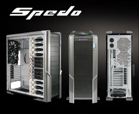 Корпуса Thermaltake Spedo: инновации во всём!