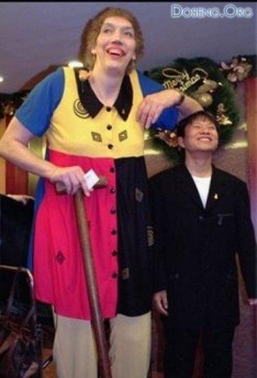 В США скончалась самая высокая женщина в мире