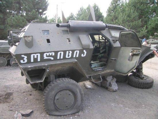 История турецко-грузинского броневика