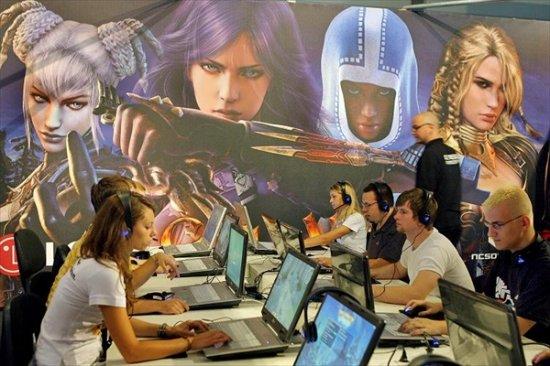 Выставка новинок игровой и мультимедийной индустрии