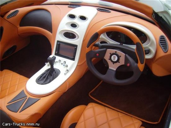 Дизельный суперкар - Trident Iceni