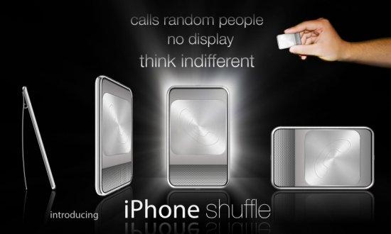 iPhone shuffle: парад... концептов?
