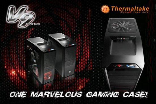 Thermaltake V9: отличный геймерский корпус