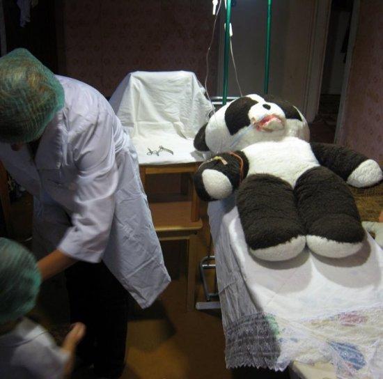 Спасение панды