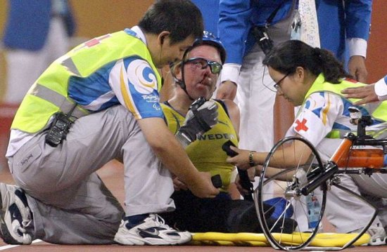 Трагедия на паралимпийских играх