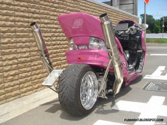 Грамурненький мотоцикл