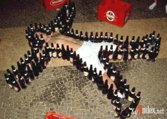 Стебы над пьяными:)