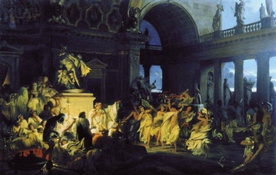 Любовная жизнь древних римлян