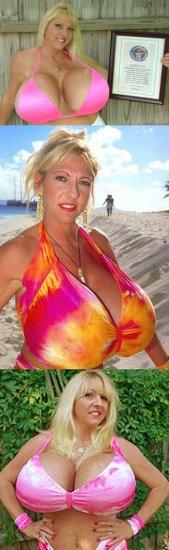 ТОП-10 самых больших бюстов (10 фото)