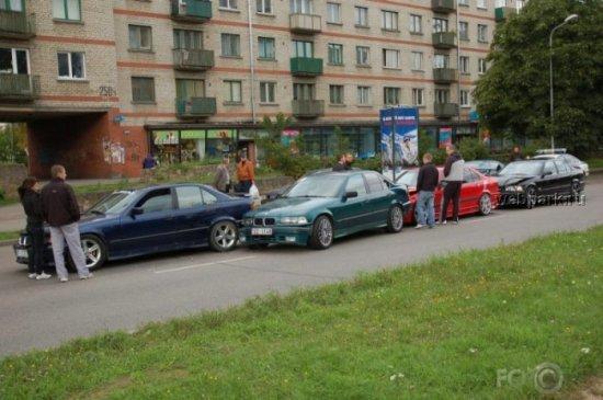 Встреча фан-клуба BMW в Риге