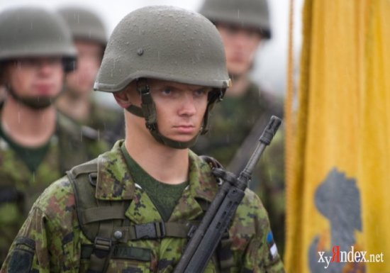 Эстонская армия самая быстрая,грозная,страшная.