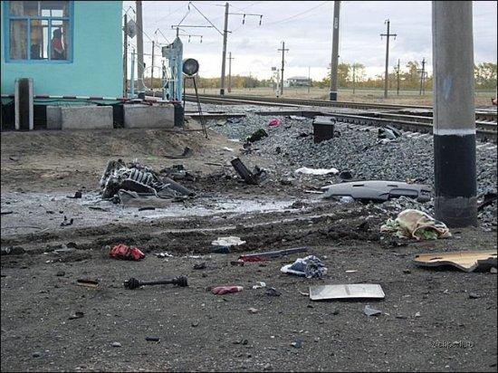 Крушение поезда в Омской области