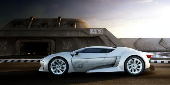 Парижский автосалон 2008: Citroen GT Concept(+опрос)