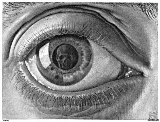 Интересные рисунки Эшера