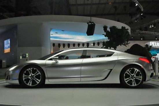Парижский автосалон 2008: Peugeot RC Concept