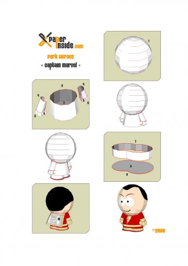 South Park из бумаги Часть 1
