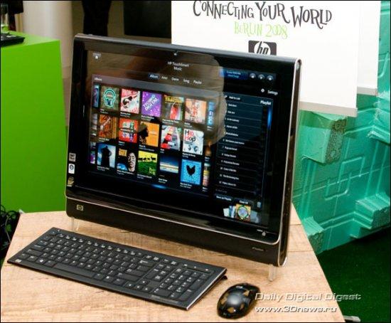 $2500 за сенсорный ПК HP TouchSmart IQ500