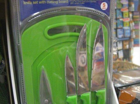 Ну и название для ножей...