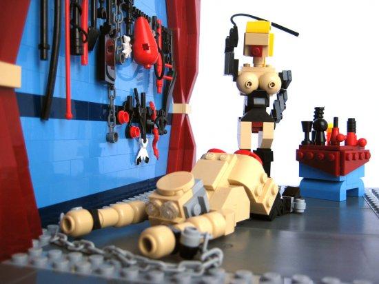 Интересный такой набор Lego!