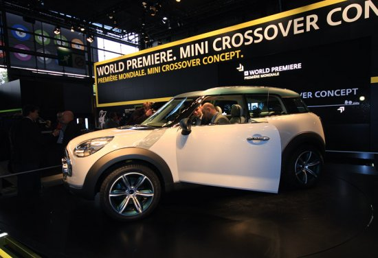 На Mini Crossover будет не стыдно ездить в будущем
