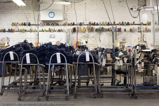 Фабрика по производству джинс