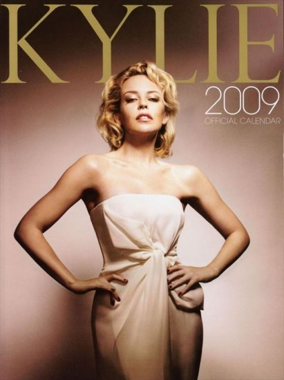 Календарь Кайли Миноуг (Kylie Minogue) на 2009 год
